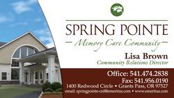 Spring Pointe Memory Care