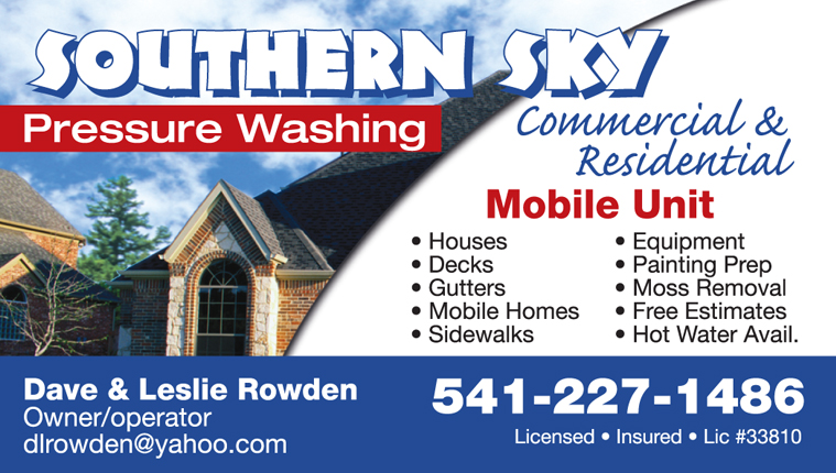 Southern Sky Pressure Washing
