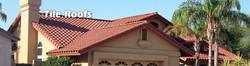Tile roof replacement or repair in m
