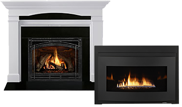 Nathan Perry Heating and Air Conditioning in Medford Oregon offers fireplaces and fireplace inserts by Heat Glo including repair, sales, service, and installation.