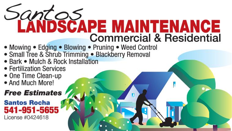 Santos Landscape Maintenance