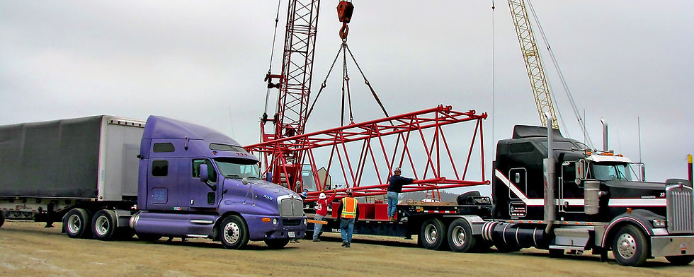 Heavy haul and oversized load specialists, specializing in wind farm euipment hauling  | Freight brokerages medford oregon