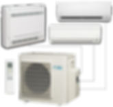Split and Multi-Split Air Conditioning Systems in Medford Oregon. Nathan Perry Heating & Air Conditioning in Southern Oregon.