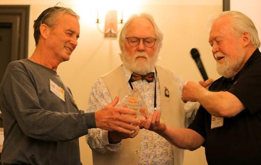Robert Coffan, Chip Taylor and Bob Pyle at 2020 WMA Summit
