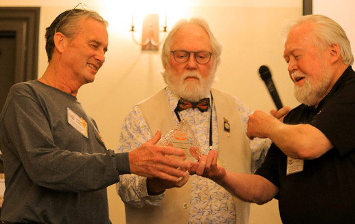 Robert Coffan, Chip Taylor and Bob Pyle at 2020 WMA Summit