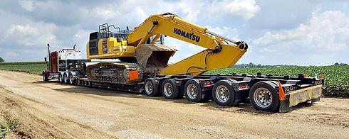reliable experienced construction equipment and oversize load hauling brokerage