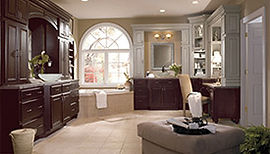 Image Gallery of quality kitchen, bath and office cabinetry and countertops in medford oregon