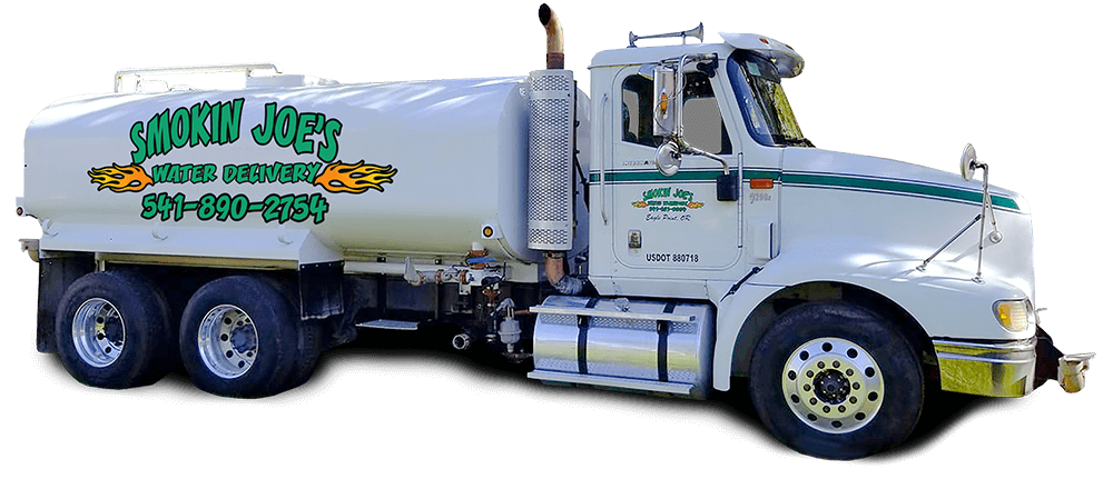Smoking Joe's Water Delivery in Southern Oregon and Jackson County