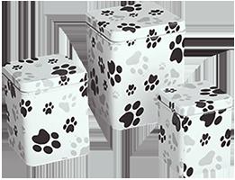 Paw print cremation urn for dog or cat medford oregon