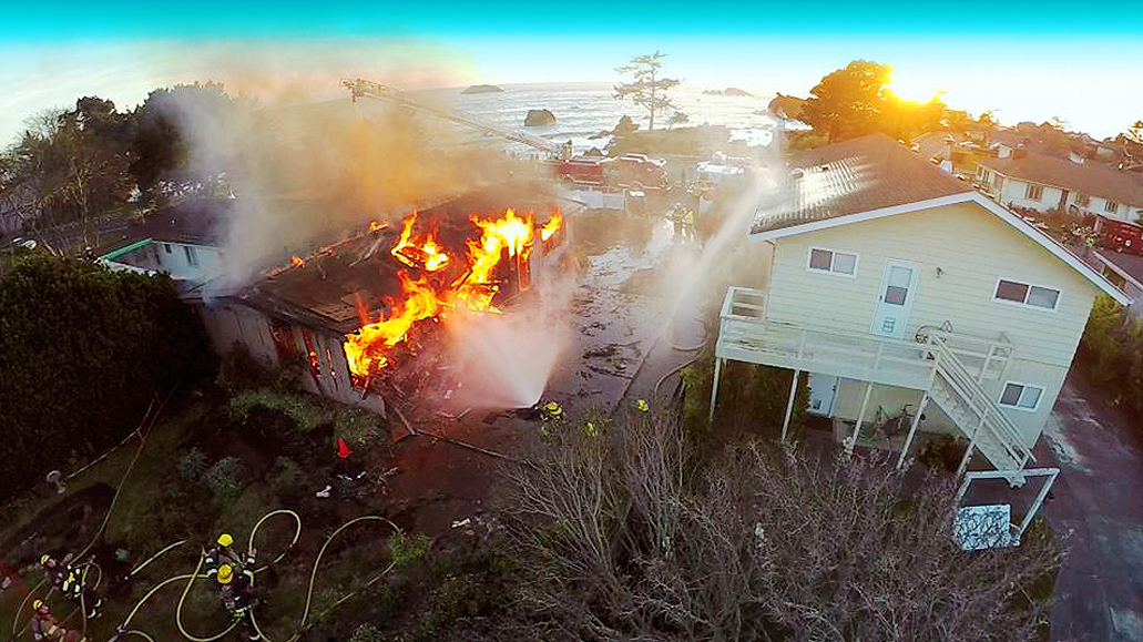 Beach House Fire