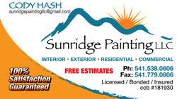 Sunridge Painting