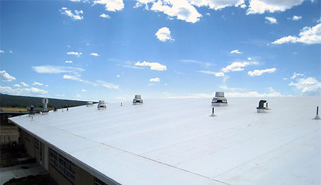 Rivas Roofing and Construction in Medford Oregon offers TPO Commercial Roofing Services in Southern Oregon.