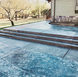 custom concrete construction and stamped concrete in southern oregon