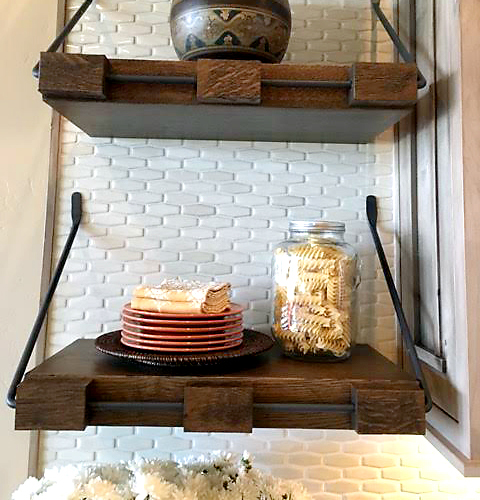 Custom Kitchen Shelves Medford