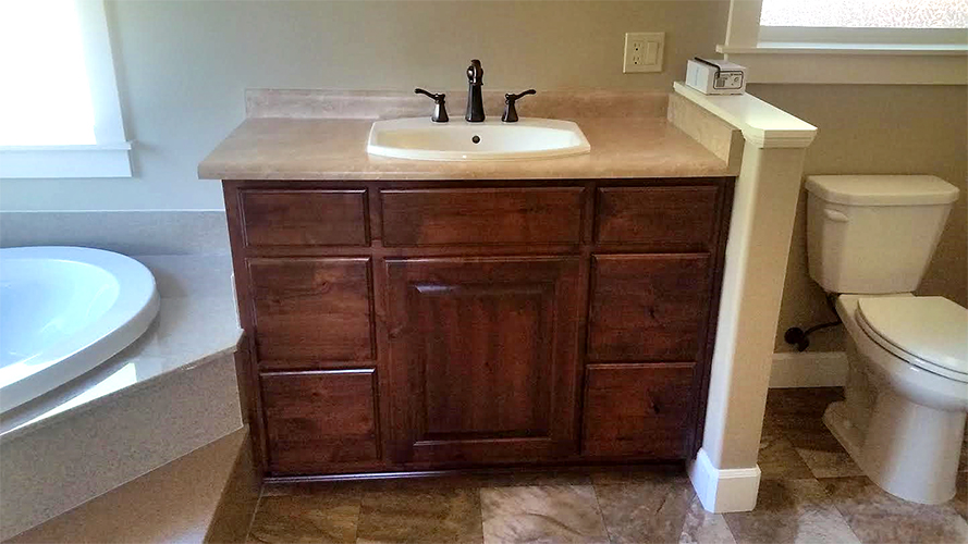 Medford Custom Bathroom Cabinets