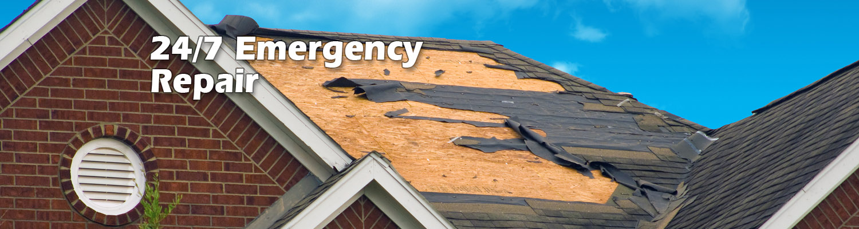 24 hour emergency roof repairs