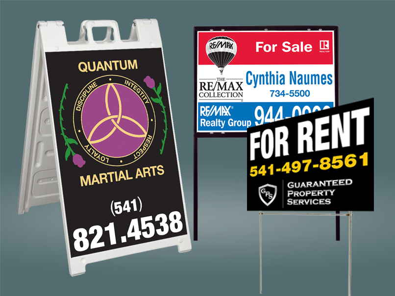 Yards Signs, Real Estate, A-Frames