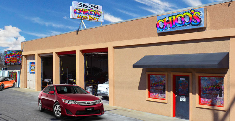 About Chico's Auto Collision & Repair located in Medford Oregon offering auto collision and paint services to southern oregon
