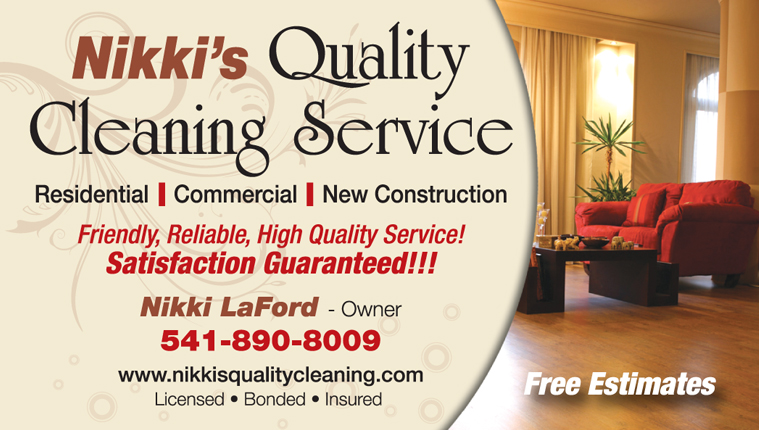 Nikki's Quality Cleaning Service