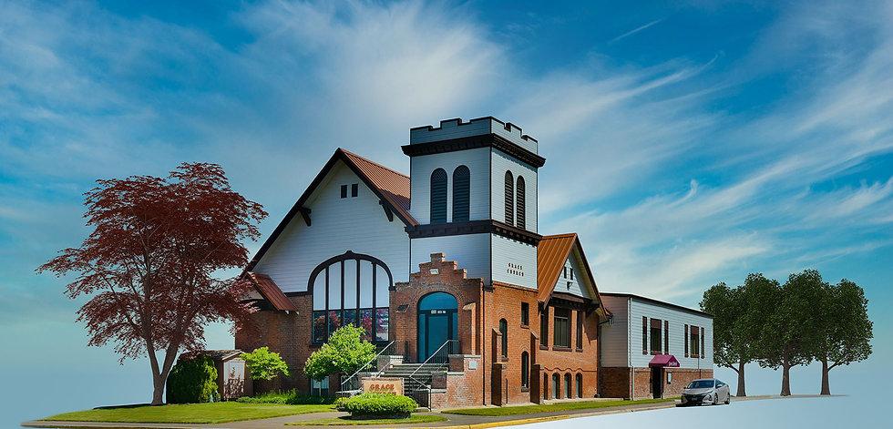 Grace Church Isolated Blue Sky 5 Sky sm.
