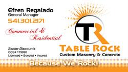 Table Rock Custom Masonry