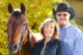 Howard and Sue Moore, owners of AT Horsehardware quality show tack at affordable prices