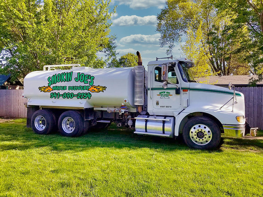 Smokin Joe's Water Delivery, formerly Marie's Water Delivery offers bulk water delivery in Jackson county including swimming pool water.