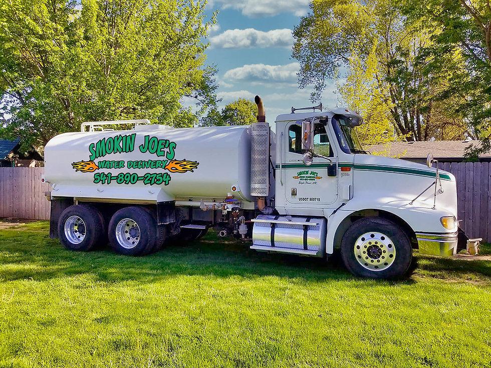 Smokin Joe's Water Delivery in Southern Oregon