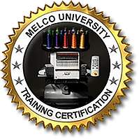 Lois Malone at Master Stitch in Medford Oregon is a certified software trainer for the Melco Embroidery Systems