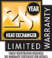 Tempstar 25 Year Limited Warranty on Heat Exchanger in Southern Oregon