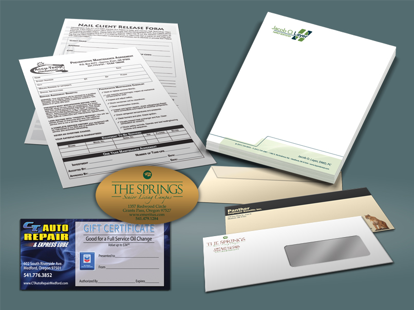 Labels, Stickers, Forms, Letterhead,