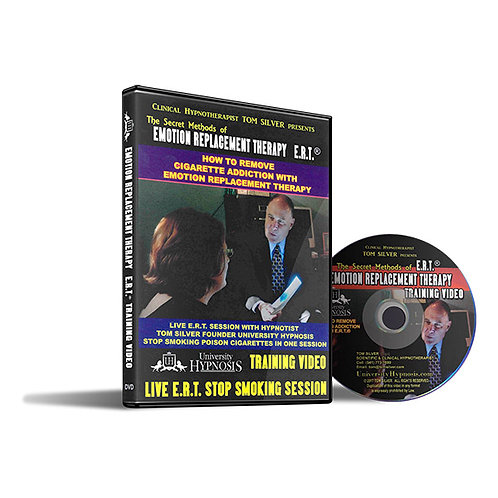 HOW TO REMOVE CIGARETTE ADDICTION WITH HYPNOSIS EMOTION REPLACEMENT THERAPY DVD