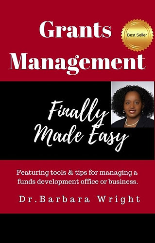 Grants Management Finally Made Easy Workbook Only
