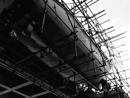 A história das estruturas de andaime