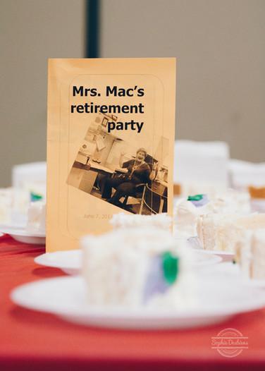 Party de retraite