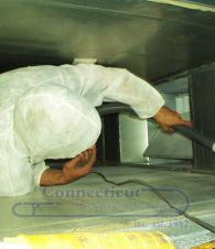 Contact Cleaning Large Supply Duct