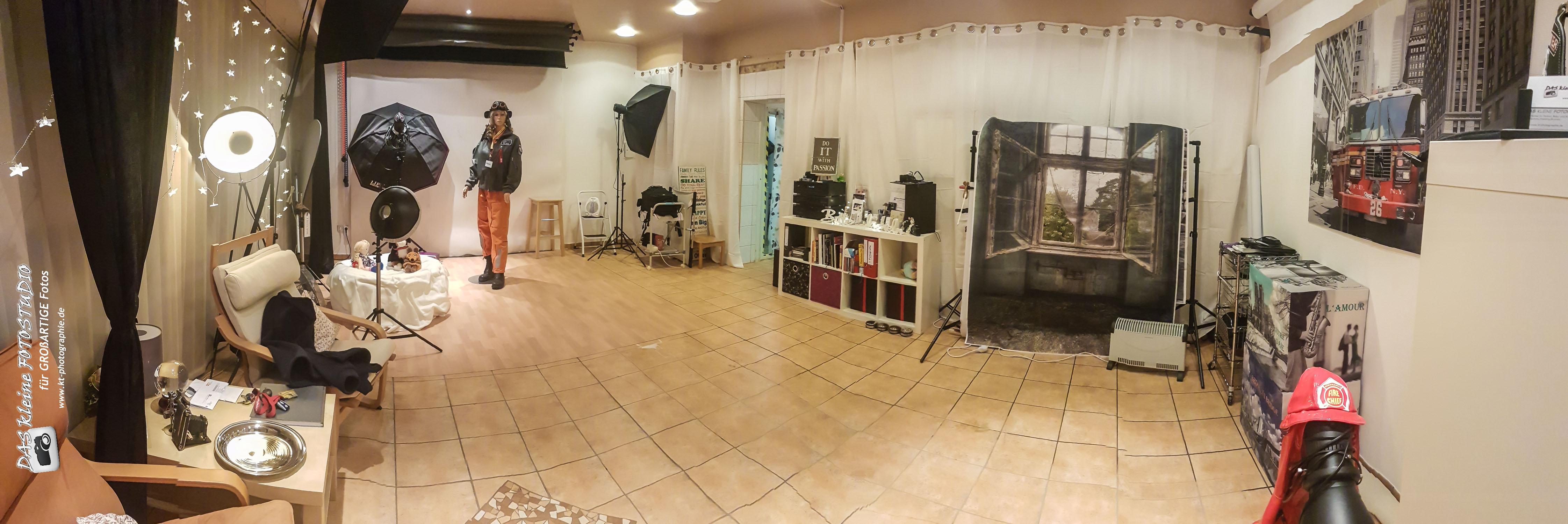 Lichtformer im Studio