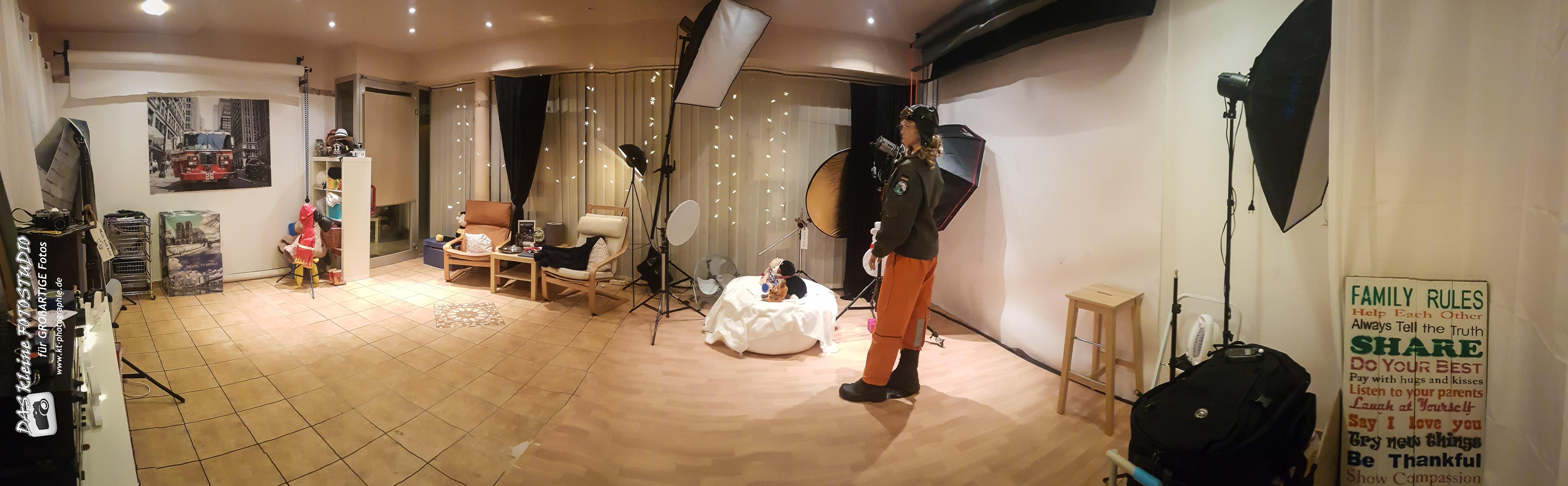 Das Studio....