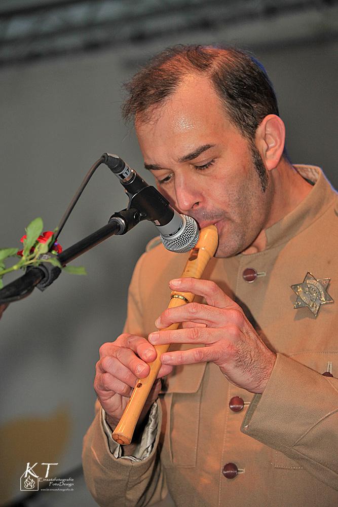 Flöteneinsatz....