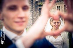 Braut im Herz
