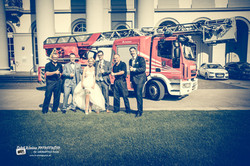 Feuerwehrfraus-Strumpfband...