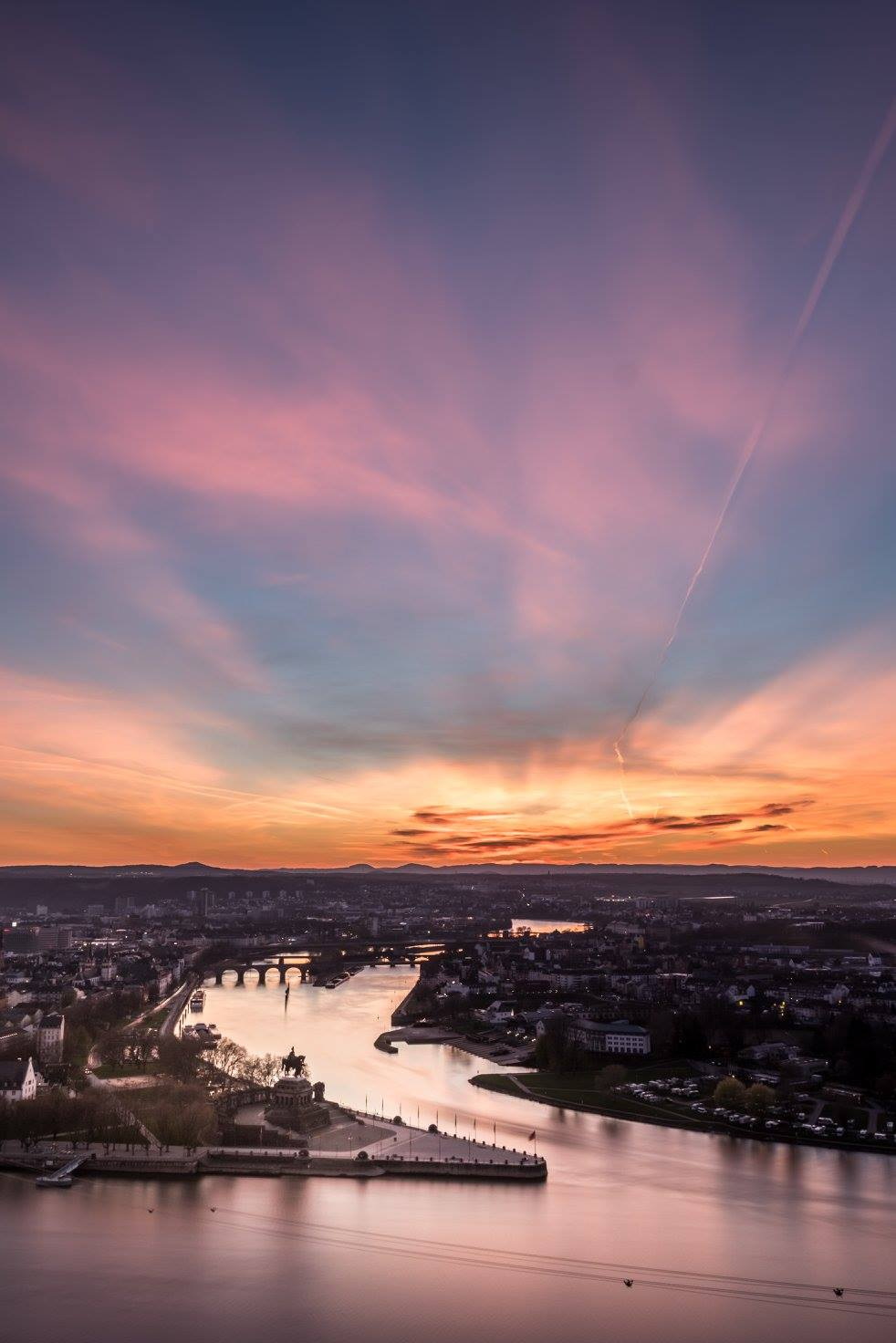Blicke über Koblenz