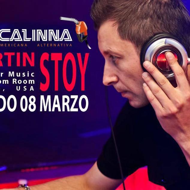 Martin Stoy @ Mezcalinna, Playa Del Carm