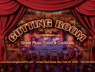 LIVE MUSIC STILL LIVES IN NEW YORK, AT THE CUTTING ROOM
