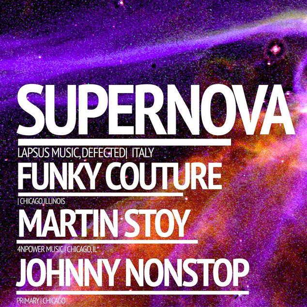 Supernova, Martin Stoy @ Primary 10-10-1