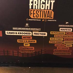 5-1 Fright festival - Brighton, UK 10-31