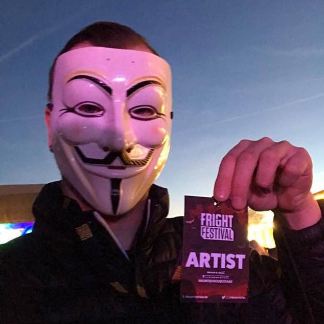 3-1 Djing @ Fright festival in Brighton,