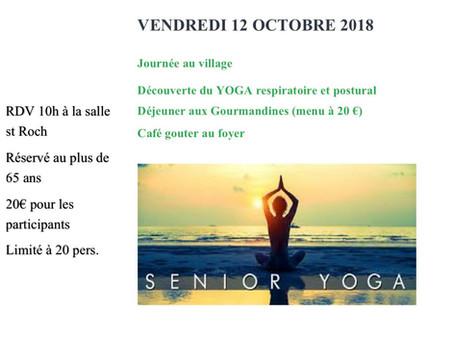 Le yoga sur chaise: le yoga pour tous!