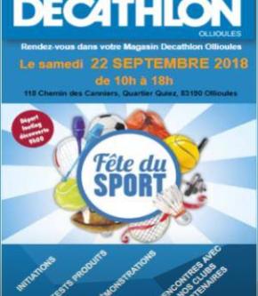 Yogaflow est présent à Decathlon pour la journée du sport
