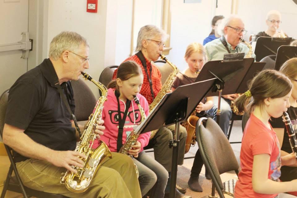 L'harmonie c'est pour tout le monde à tout âge!